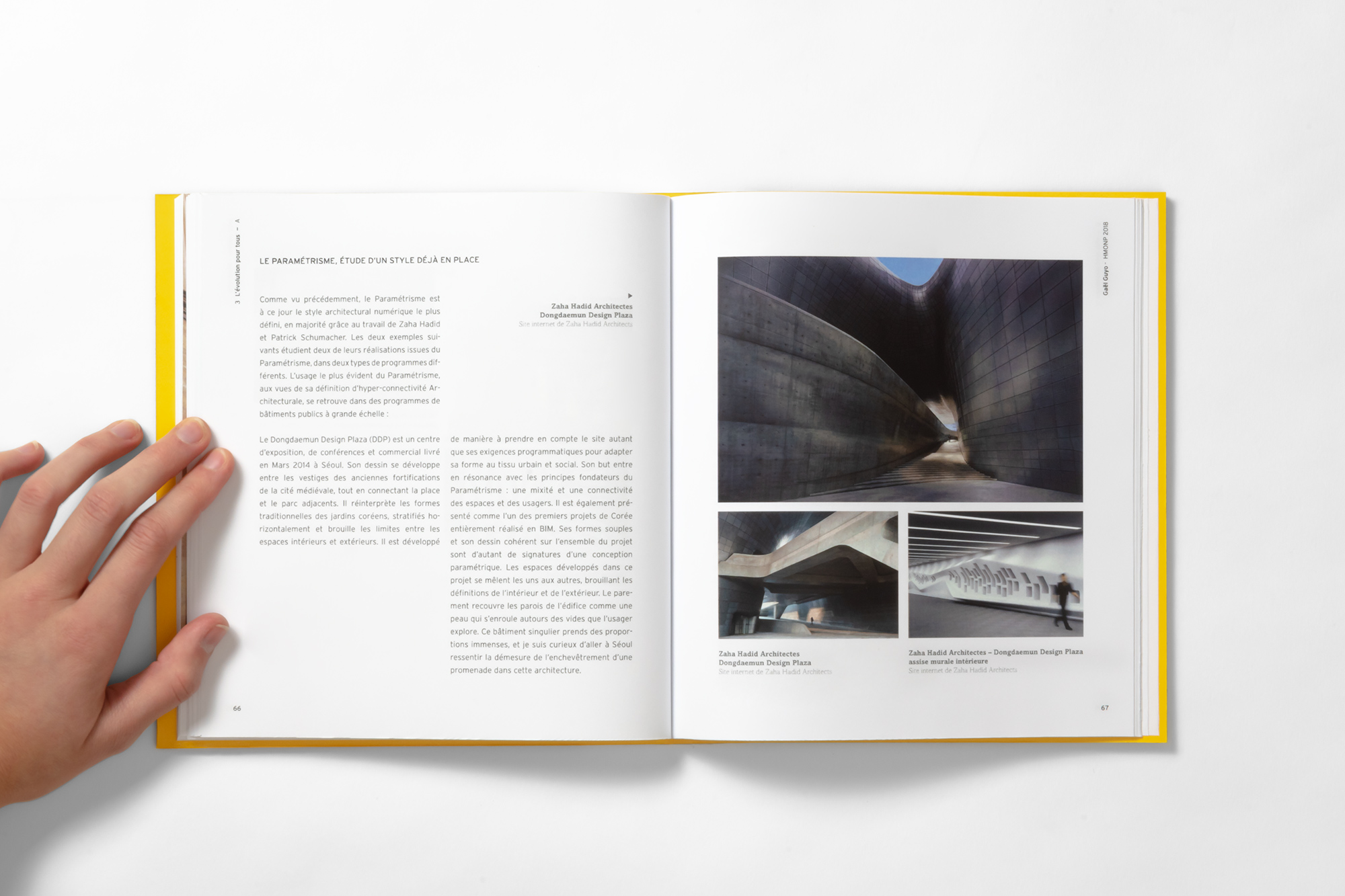 Photo projet Architecture Book